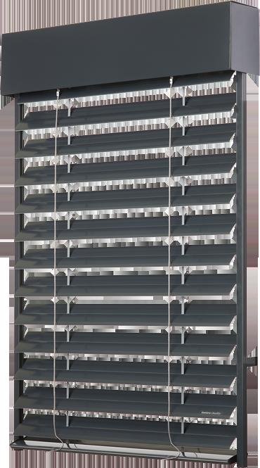 Detaily Venkovní okenní žaluzie Zetta90