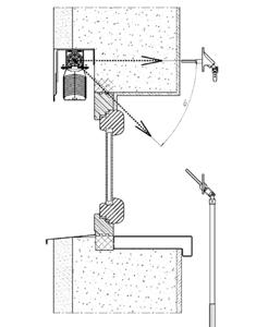 Montáž do vytvořené kapsy (strop / stěna)